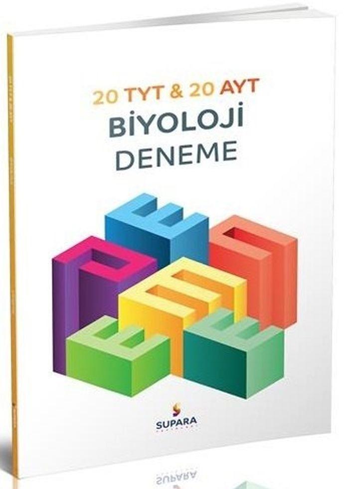 Supara Yayınları TYT AYT Biyoloji 20 li Deneme