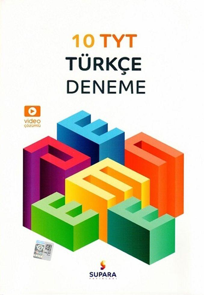 Supara Yayınları TYT Türkçe 10 Deneme