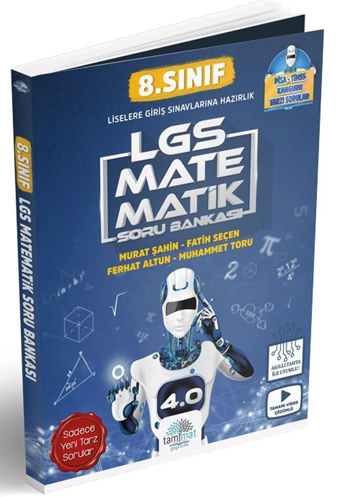 Tammat Yayıncılık 8. Sınıf LGS Matematik 4.0 Soru Bankası