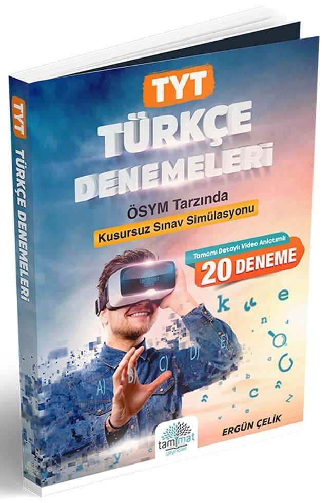 Tammat Yayıncılık TYT Türkçe 20 li Denemeleri