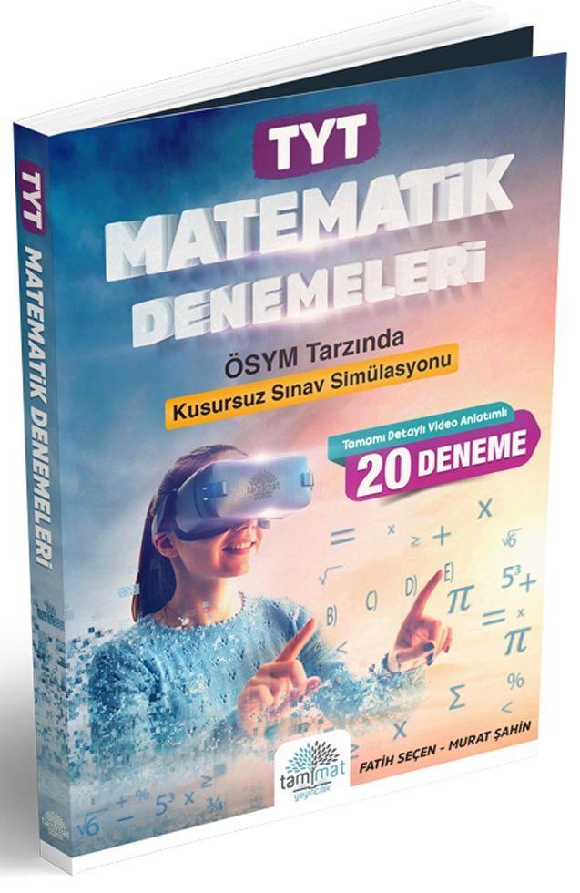 Tammat Yayıncılık TYT Matematik 20 li Denemeleri