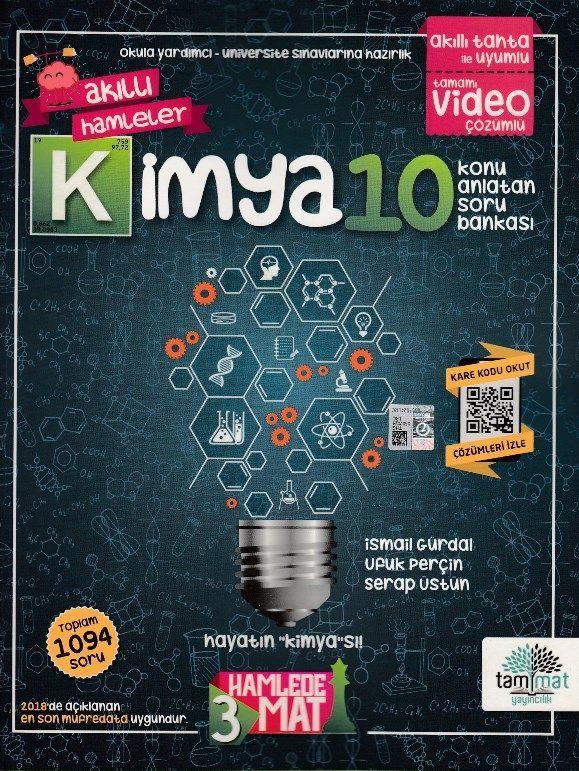 Tammat Yayınları 10. Sınıf Kimya Konu Anlatan Soru Bankası
