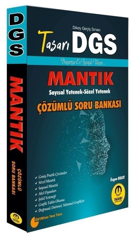 Tasarı Yayınları DGS Sayısal Sözel Mantık Çözümlü Soru Bankası