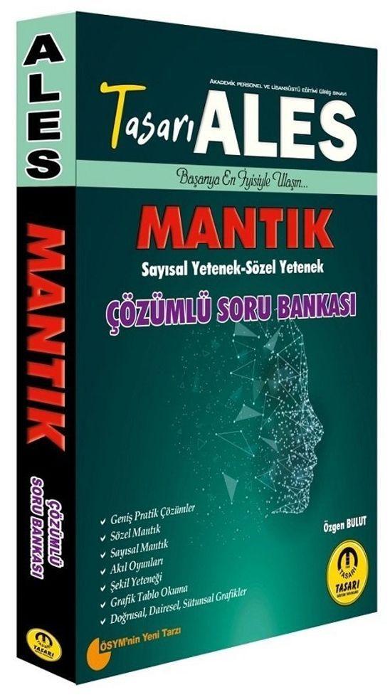 Tasarı Yayınları ALES Sayısal Sözel Mantık Çözümlü Soru Bankası