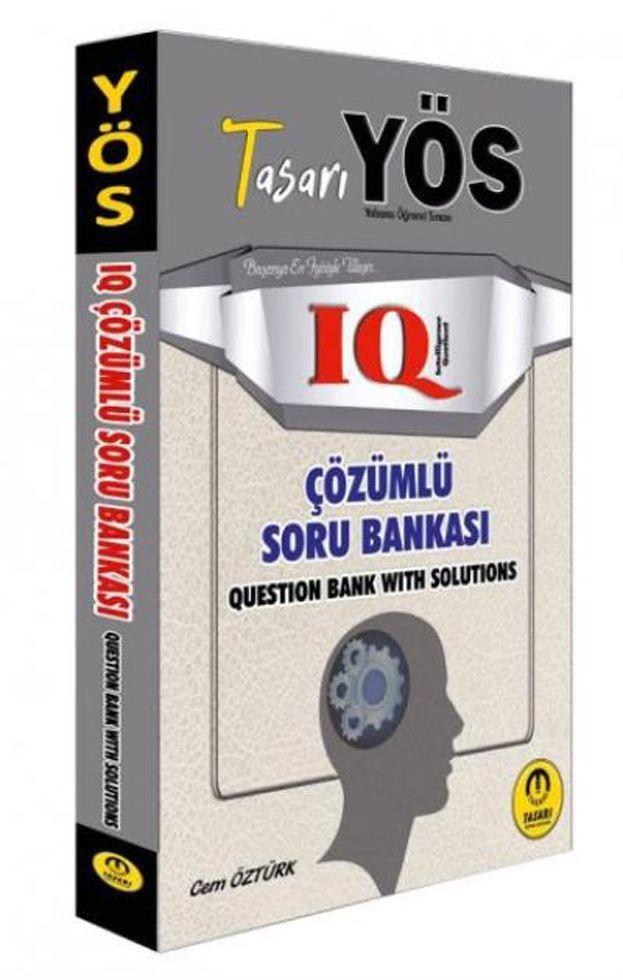 Tasarı Yayınları YÖS IQ Çözümlü Soru Bankası