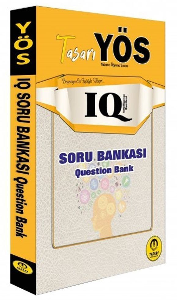 Tasarı Yayınları YÖS IQ Soru Bankası