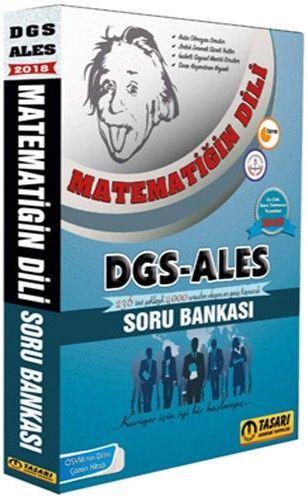 Tasarı Yayınları 2018 DGS ALES Matematiğin Dili Soru Bankası