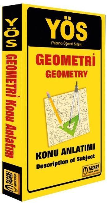 Tasarı Yayınları YÖS Geometri Konu Anlatımı