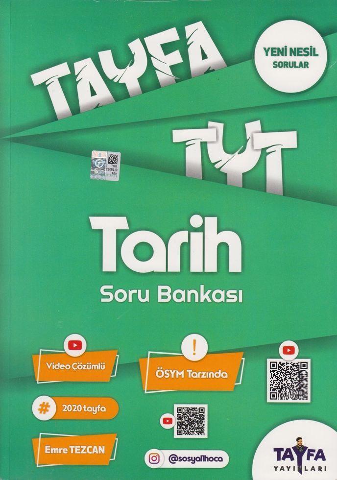 Tayfa Yayınları TYT Tarih Soru Bankası