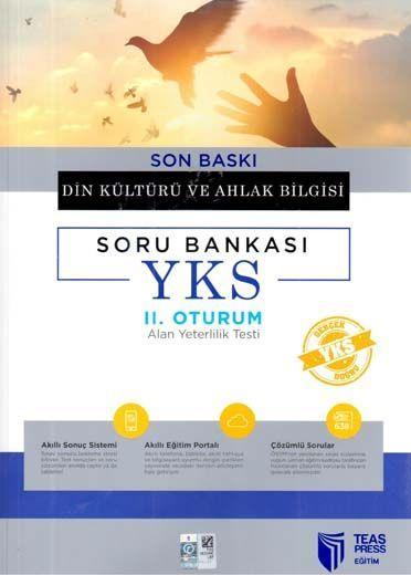 Teas Press Yayınları AYT Son Baskı Din Kültürü ve Ahlak Bilgisi Soru Bankası