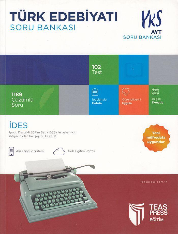 Teas Press Yayınları AYT Türk Edebiyatı Soru Bankası