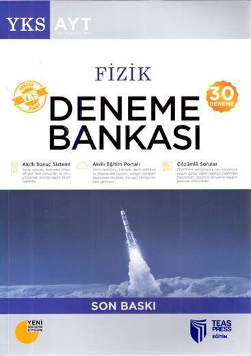 Teas Press Yayınları AYT Fizik 30 Deneme Bankası