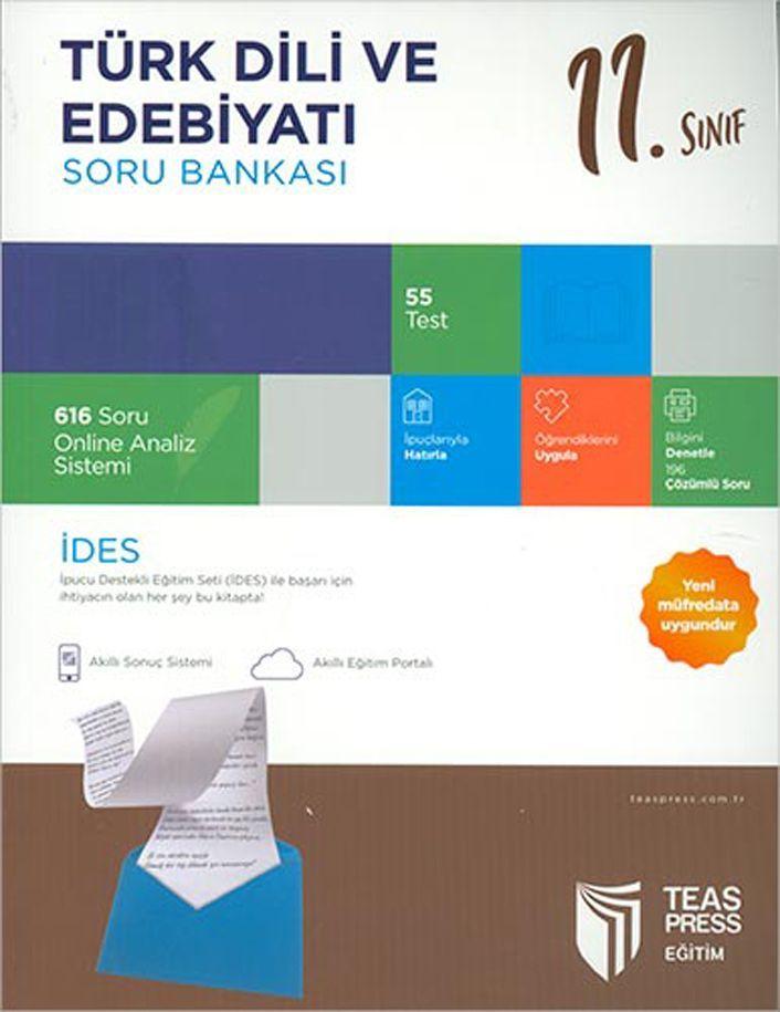 Teas Press Yayınları 11. Sınıf Türk Dili ve Edebiyatı Soru Bankası