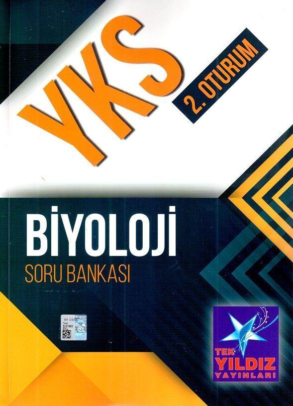 Tek Yıldız Yayınları YKS 2. Oturum Biyoloji Soru Bankası