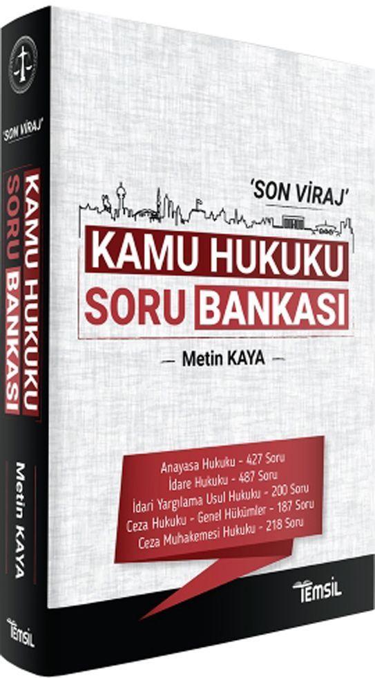 Temsil Yayınları Son Viraj Kamu Hukuku Soru Bankası