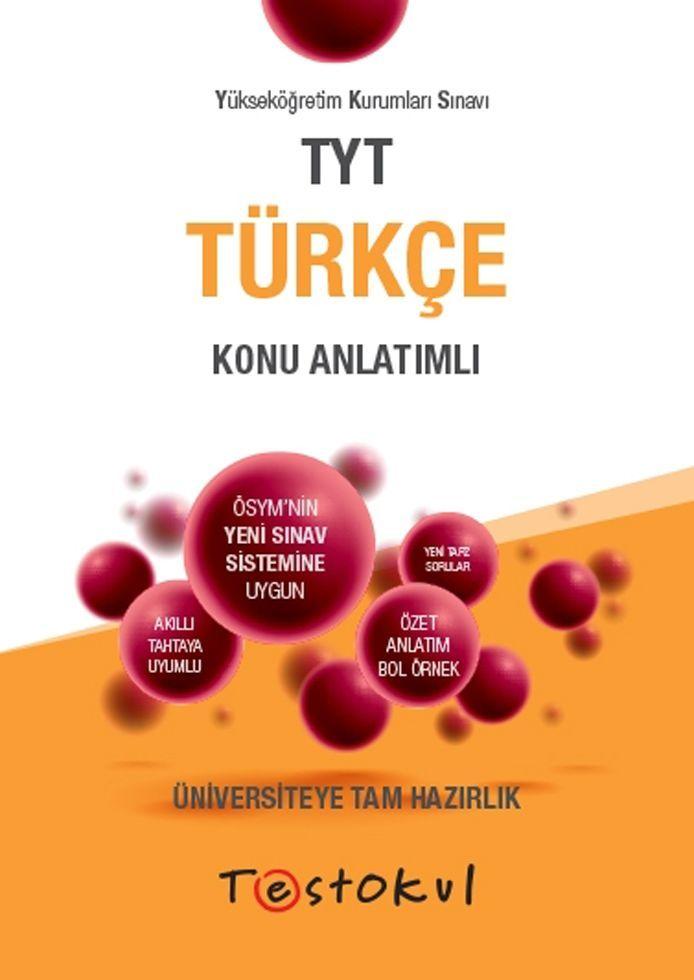 Test Okul Yayınları TYT Türkçe Konu Anlatımlı