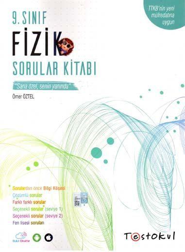 Test Okul Yayınları 9. Sınıf Fizik Sorular Kitabı