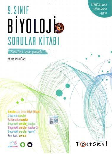Test Okul Yayınları 9. Sınıf Biyoloji Sorular Kitabı