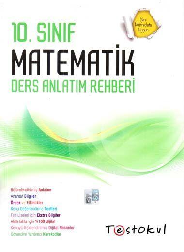 Test Okul Yayınları 10. Sınıf Matematik Ders Anlatım Rehberi
