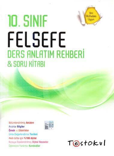 Test Okul Yayınları 10. Sınıf Felsefe Ders Anlatım Rehberi Soru Kitabı