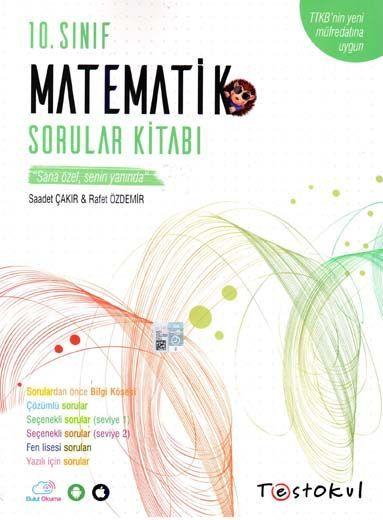 Test Okul Yayınları 10. Sınıf Matematik Sorular Kitabı