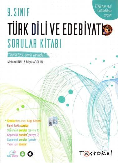 Test Okul Yayınları 9. Sınıf Türk Dili ve Edebiyatı Sorular Kitabı