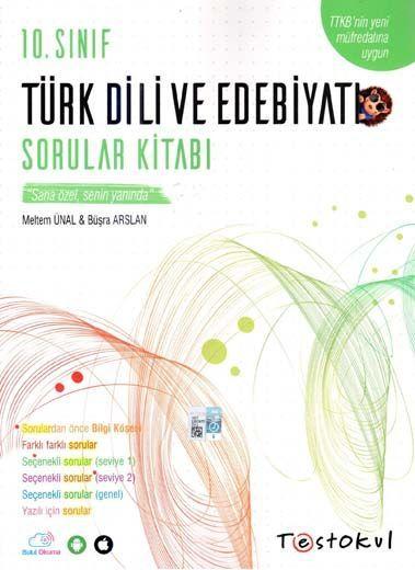 Test Okul Yayınları 10. Sınıf Türk Dili ve Edebiyatı Sorular Kitabı