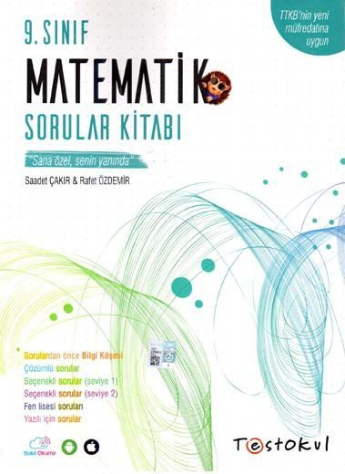 Test Okul Yayınları 9. Sınıf Matematik Sorular Kitabı