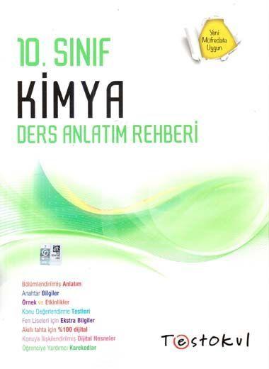 Test Okul Yayınları 10. Sınıf Kimya Ders Anlatım Rehberi