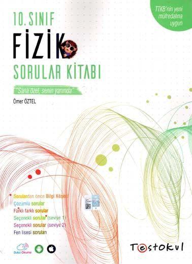 Test Okul Yayınları 10. Sınıf Fizik Sorular Kitabı