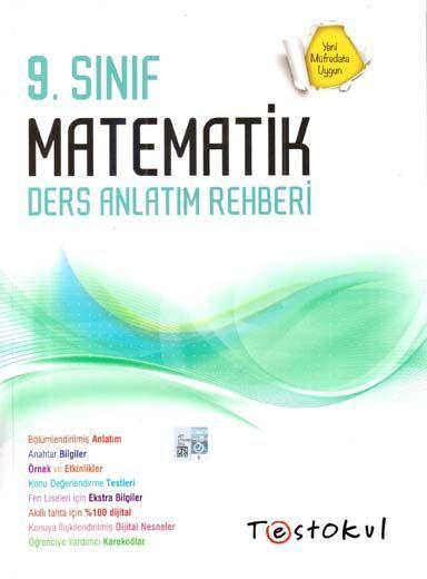 Test Okul Yayınları 9. Sınıf Matematik Ders Anlatım Rehberi