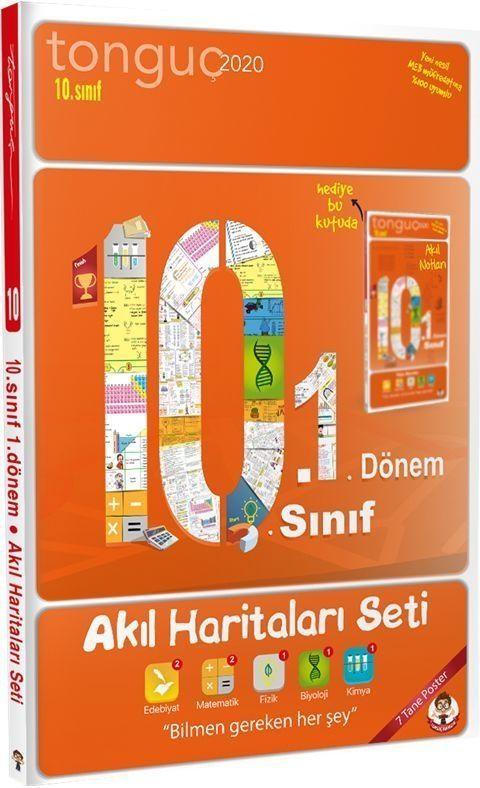 Tonguç Akademi 10. Sınıf 1. Dönem Akıl Haritaları Seti