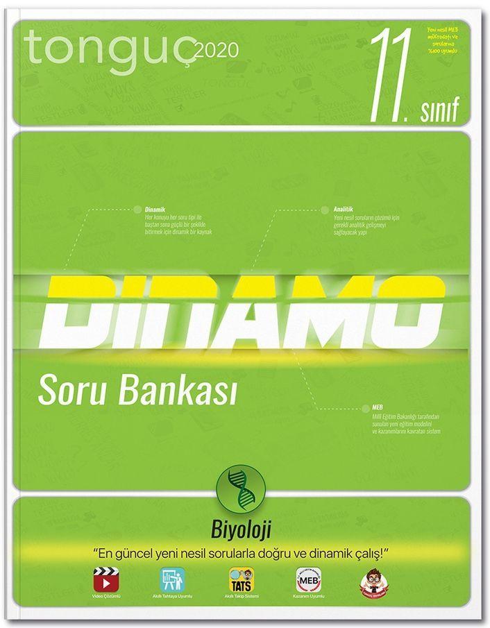 Tonguç Akademi 11. Sınıf Dinamo Biyoloji Soru Bankası