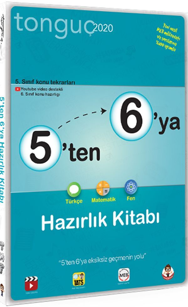 Tonguç Akademi 6. Sınıf 5 ten 6 ya Hazırlık Kitabı