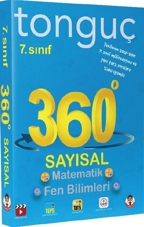 Tonguç Akademi 7. Sınıf 360 Sayısal Matematik Fen Bilimleri