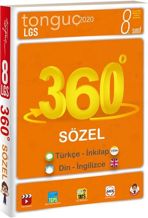 Tonguç Akademi 8. Sınıf 360 Sözel Föy