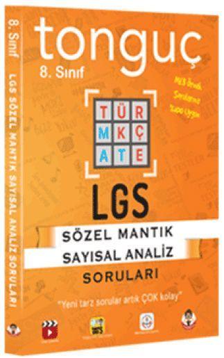 Tonguç Akademi 8. Sınıf LGS Sözel Sayısal Mantık Soruları