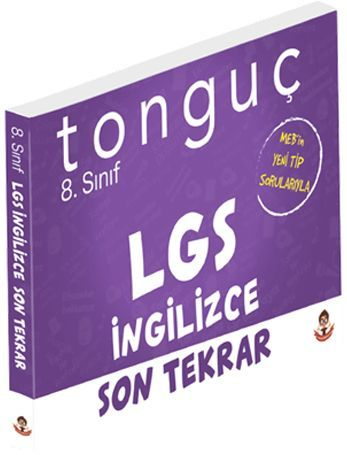 Tonguç Akademi 8. Sınıf LGS Son Tekrar İngilizce