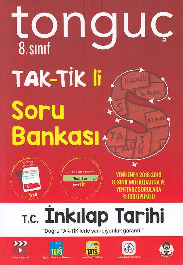 Tonguç Akademi 8. Sınıf T.C. İnkılap Tarihi ve Atatürkçülük TAK TİK li Soru Bankası