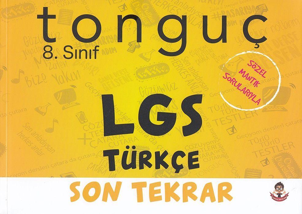 Tonguç Akademi 8. Sınıf LGS Türkçe Son Tekrar