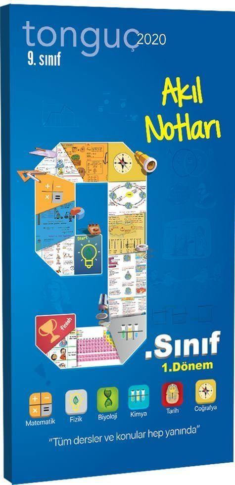 Tonguç Akademi 9. Sınıf 1. Dönem Akıl Notları