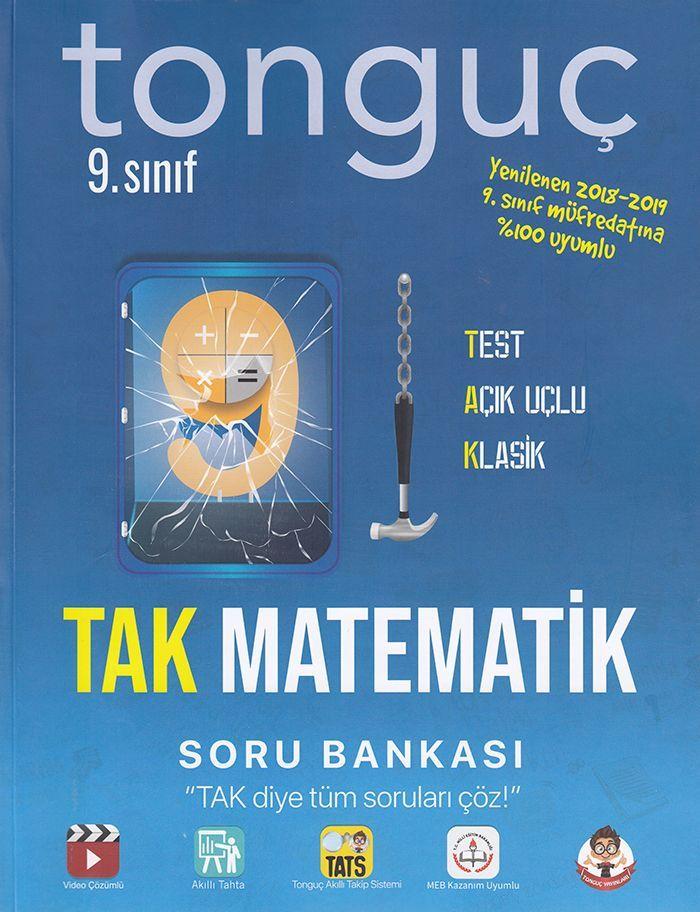 Tonguç Akademi 9. Sınıf TAK Matematik Soru Bankası