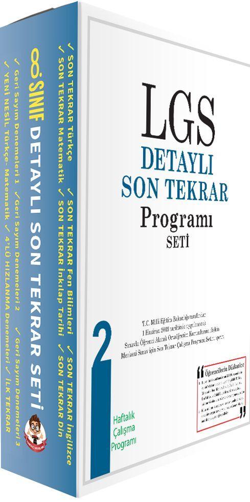 Tonguç Akademi LGS Detaylı Son Tekrar Programı Seti 2