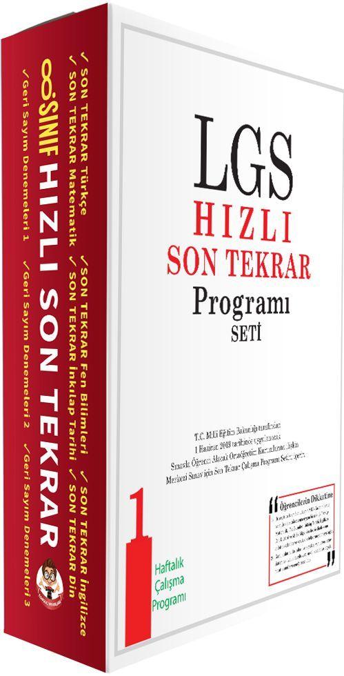 Tonguç Akademi LGS Hızlı Son Tekrar Programı Seti 1