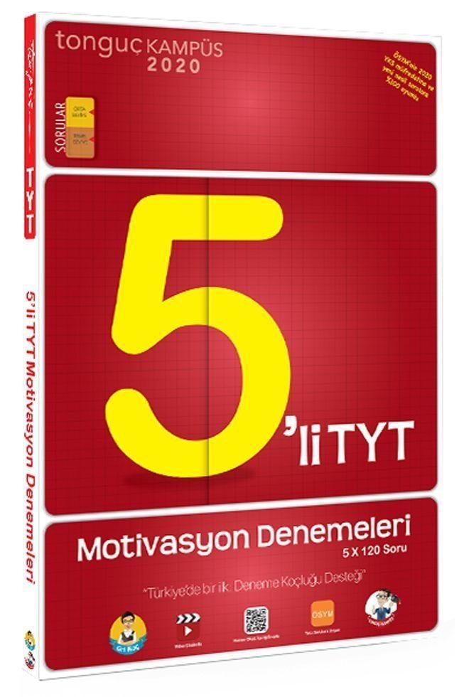 Tonguç Akademi TYT 5 li Motivasyon Denemeleri
