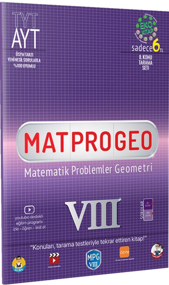 Tonguç Akademi TYT AYT Matematik Problemler Geometri 8 Konu Tarama Testi
