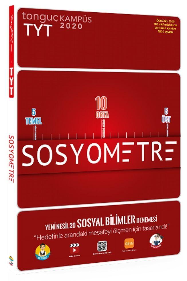 Tonguç Akademi TYT Sosyometre 20 li Deneme