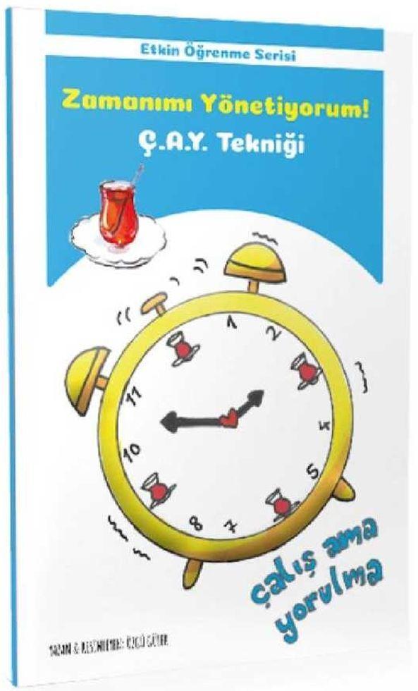 Tonguç Akademi Zamanımı Yönetiyorum ÇAY Tekniği Etkin Öğrenme Serisi