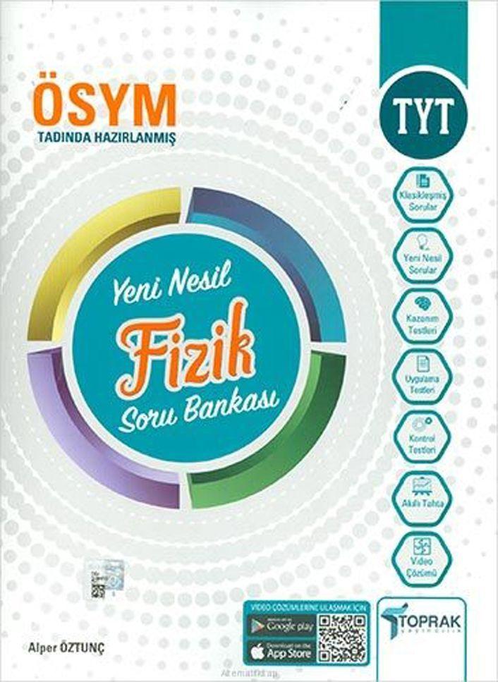 Toprak Yayıncılık TYT Fizik Yeni Nesil Soru Bankası