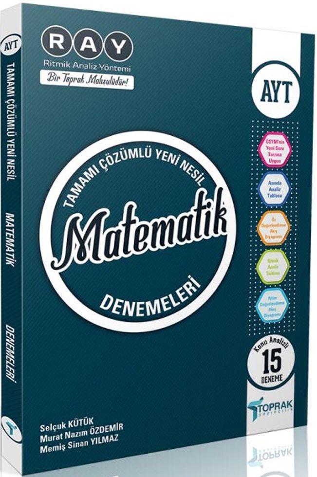 Toprak Yayıncılık AYT Matematik Ray 15 li Denemeleri